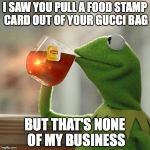 food stamp purse
