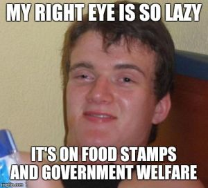 food stamps lazy
